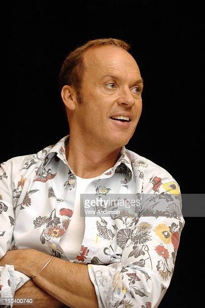 "Michael Keaton during ""Herbie Fully Loaded"" Press Conference with Lindsay Lohan, Michael Keaton and Matt Dillon at Century Plaza in Los Angeles,..."