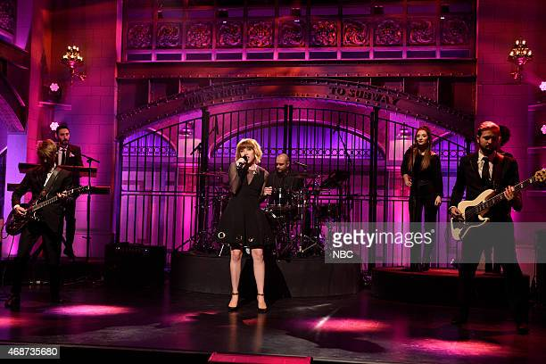 LIVE Michael Keaton Episode 1679 Pictured Musical guest Carly Rae Jepsen performs on April 4 2015