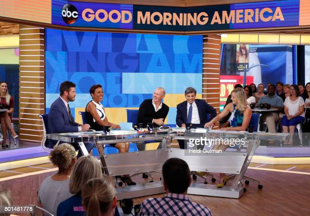 AMERICA Michael Keaton is a guest on Good Morning America Monday June 26 airing on the Walt Disney Television via Getty Images Television Network...