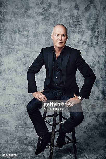 Michael Keaton is photographed at the 2015 Film Independent Spirit Awards for on February 21 2015 in Santa Monica California