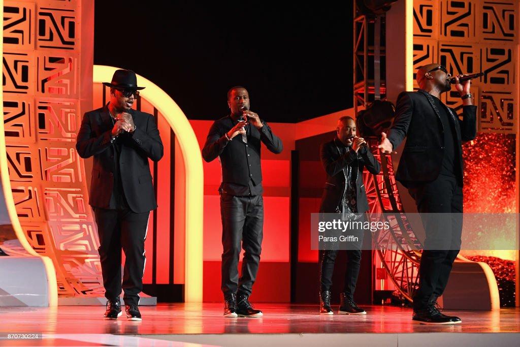 BET Presents: 2017 Soul Train Awards - Show : News Photo