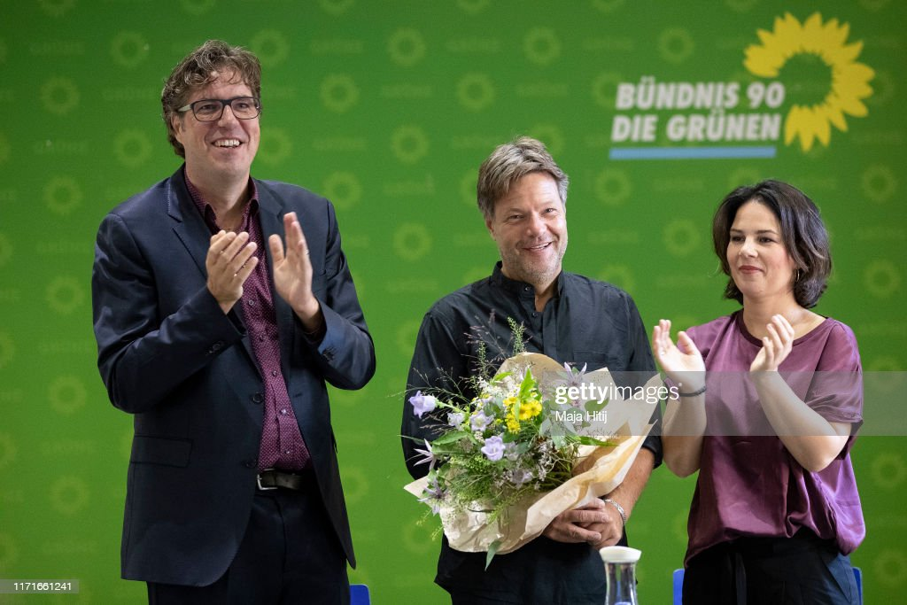 Political Parties React To Brandenburg And Saxony State Elections Results : ニュース写真