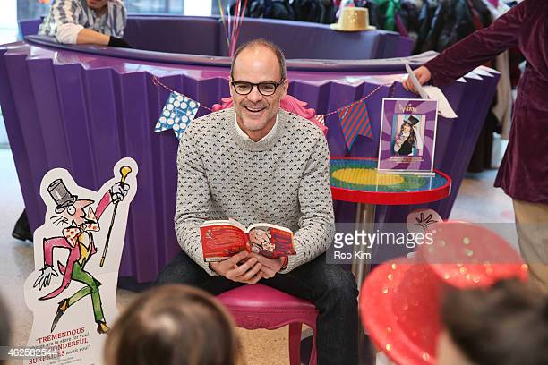 Michael Kelly attends Dylan's Candy Bar and Milk Bookies Partner NY launch of the 50th Anniversary Charlie and the Chocolate Factory Capsule...