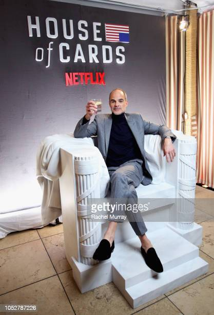 Michael Kelly attends 'House of Cards' Season 6 World Premiere on October 22 2018 in Los Angeles California