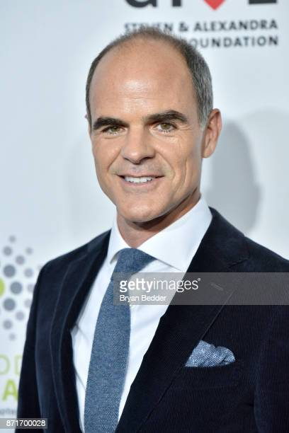 Michael Kelly attends the 11th Annual Stand Up for Heroes Event presented by The New York Comedy Festival and The Bob Woodruff Foundation at The...