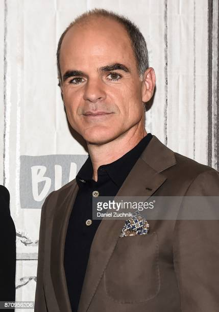 Michael Kelly attends the Build Series to discuss the miniseries 'The Long Road Home' at Build Studio on November 6 2017 in New York City