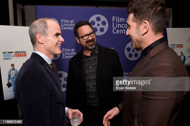 "Michael Kelly, James Mangold and Jon Bernthal attend a screening of ""Ford v Ferrari"" at The Film Society of Lincoln Center: Walter Reade Theatre on..."