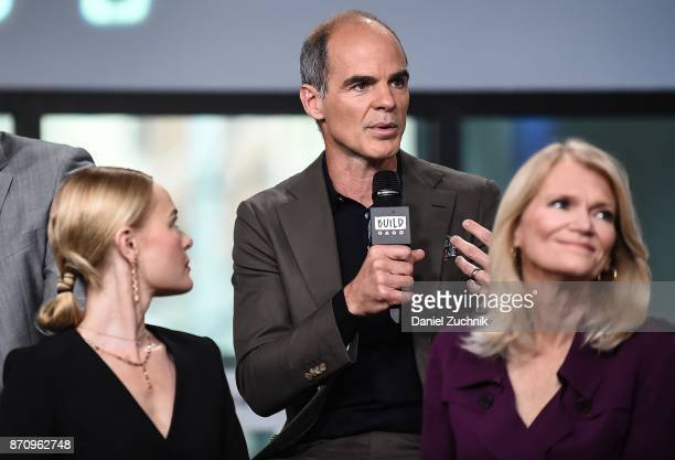 Michael Kelly Kate Bosworth and Martha Raddatz attend the Build Series to discuss the miniseries 'The Long Road Home' at Build Studio on November 6...