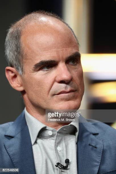 Michael Kelly of 'The Long Road Home' speaks onstage during the National Geographic Channels portion of the 2017 Summer Television Critics...
