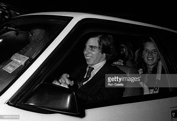 Michael Kennedy and Courtney Kennedy attend PreDedication Party for the John F Kennedy Library on October 19 1975 at the University of Massachesetts...