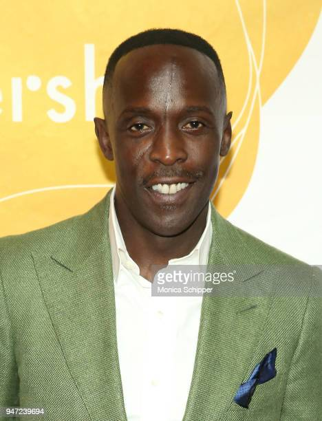 Michael Kenneth Williams attends the Urban Arts Partnership's AmplifiED Gala at The Ziegfeld Ballroom on April 16 2018 in New York City