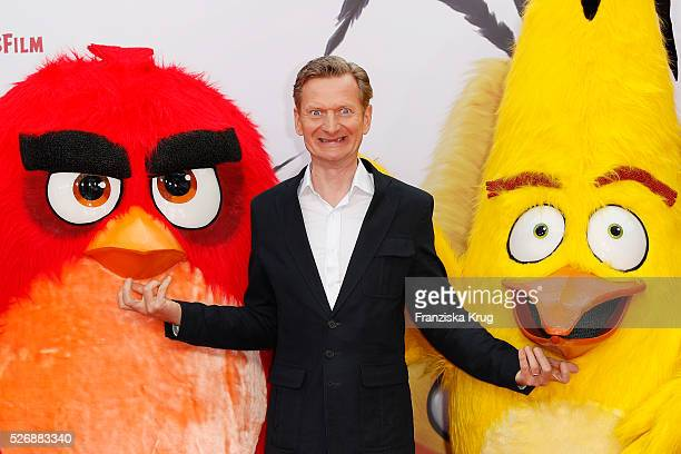 Michael Kessler attends the 'Angry Birds Der Film' Premiere on May 1 2016 in Berlin Germany