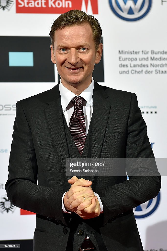 Michael Kessler attends the German television award by the Deutsche Akademie fuer Fernsehen at Museum Ludwig on November 28, 2015 in Cologne, Germany.