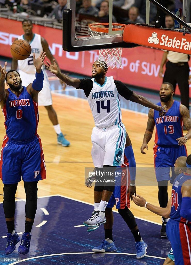 Detroit Pistons vs Charlotte Hornets : ニュース写真