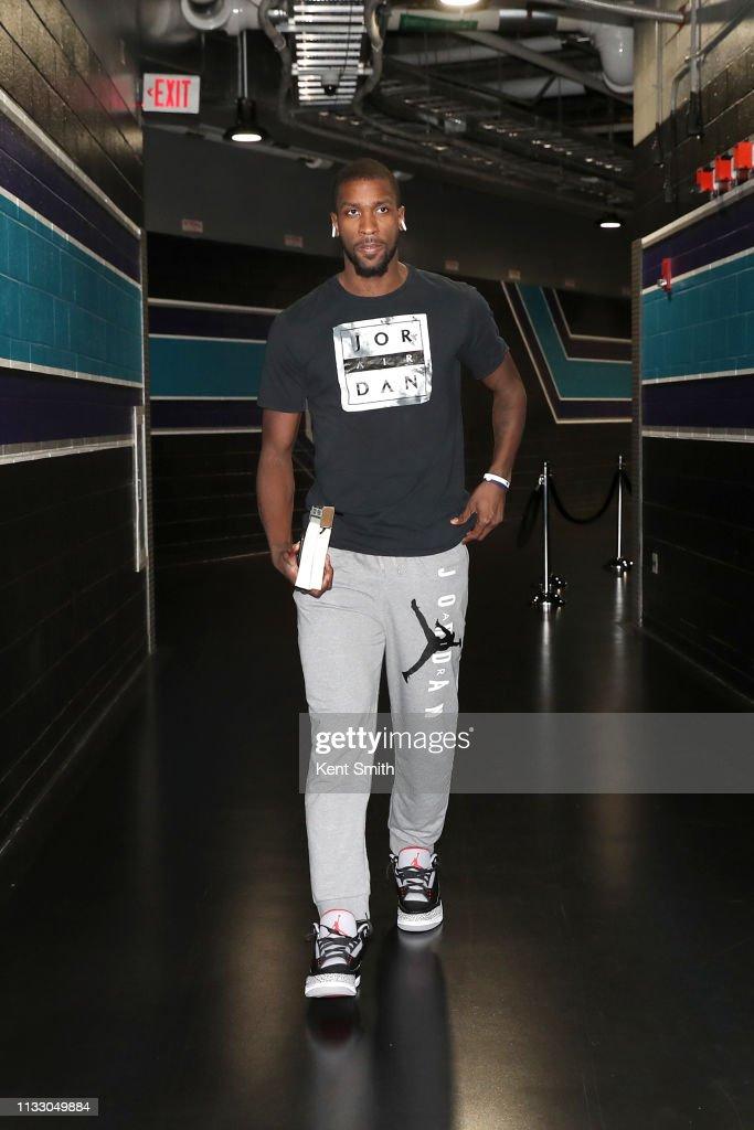 NC: San Antonio Spurs v Charlotte Hornets
