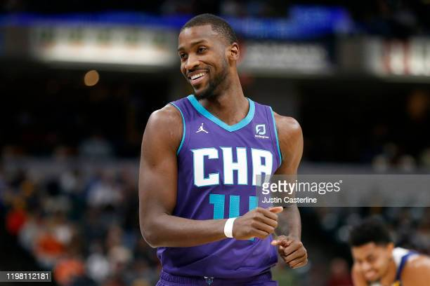 Michael KiddGilchrist of the Charlotte Hornets in action in the game against the Indiana Pacers at Bankers Life Fieldhouse on December 15 2019 in...