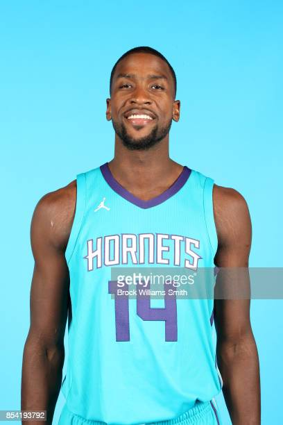 Michael KiddGilchrist of the Charlotte Hornets poses for a head shot during media day at Spectrum Center in Charlotte North Carolina NOTE TO USER...
