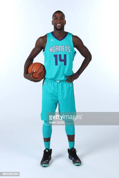 Michael KiddGilchrist of the Charlotte Hornets poses for a portrait during media day on September 25 2017 at Spectrum Center in Charlotte North...
