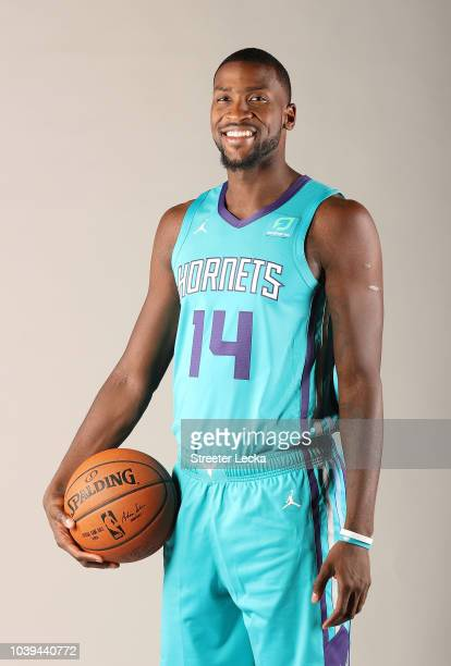 Michael KiddGilchrist poses for a portrait during the Charlotte Hornets Media Day at the Spectrum Center on September 24 2018 in Charlotte North...