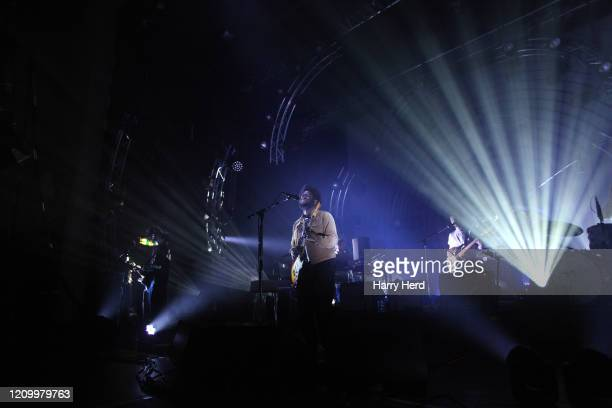 Michael Kiwanuka performs at O2 Guildhall on March 02, 2020 in Southampton, England.