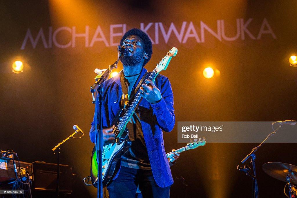 Michael Kiwanuka Performs At The O2 Shepherd's Bush Empire
