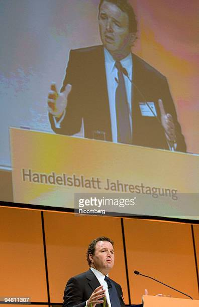 Michael Klein chairman and cochief executive officer of Citi Markets Banking at Citigroup International plc speaks at the Banks in Upheaval...