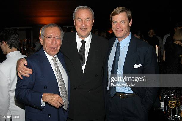 Michael Klein Robert Wilson and Shelby Bryan attend LOUIS VUITTON Private Dinner for OLAFUR ELIASSON at LOUIS VUITTON on Fifth Avenue on November 9...