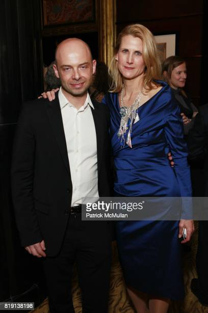 Michael Klug and Katie Gass attend Armory Show KickOff Party Hosted By JUMEIRAH ESSEX HOUSE And WHITEWALL MAGAZINE at Essex House on March 2 2010 in...