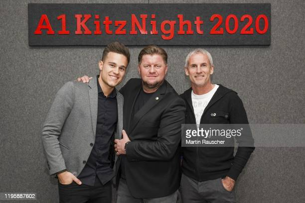 Michael Konsel with Guests on the A1 Kitz Night 2020 on the Audi FIS alpine ski world cup on January 24 2020 in Kitzbuehel Austria