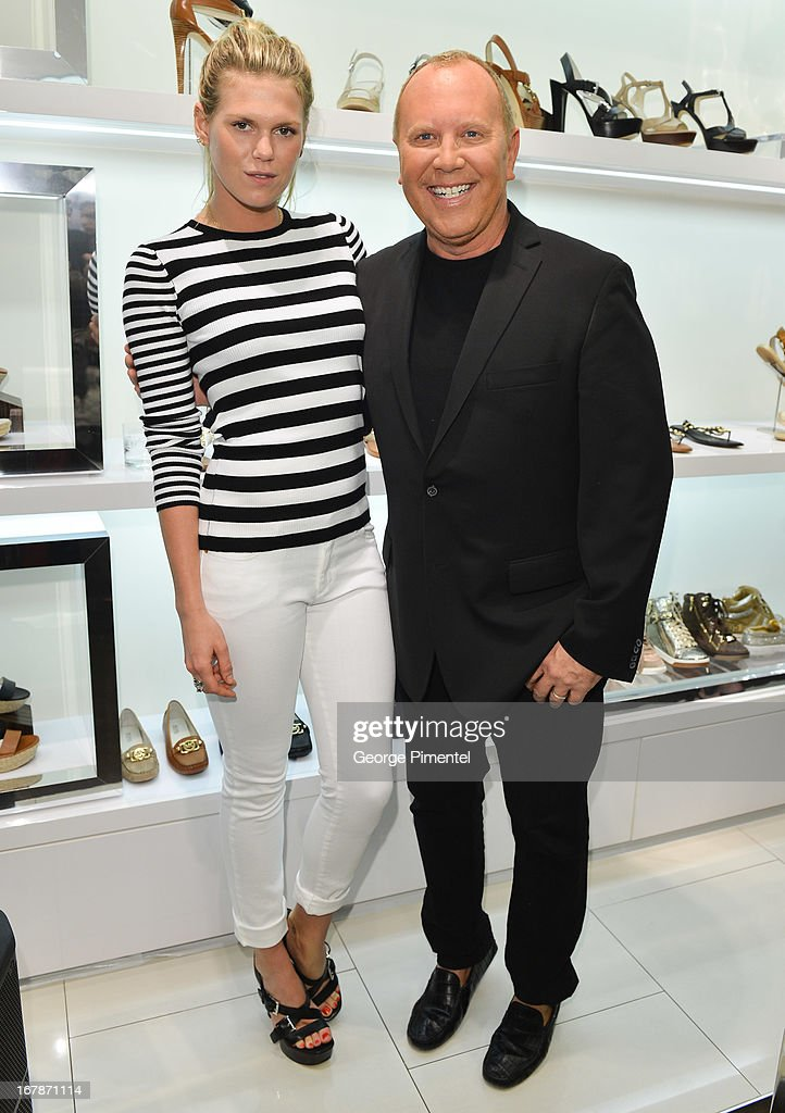 Michael Kors And Alexandra Richards Join Top Clients At Canadian Flagship Store Cocktail Shopping Event