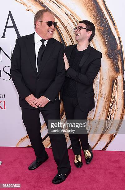 Michael Kors and Christian Siriano attend the 2016 CFDA Fashion Awards at the Hammerstein Ballroom on June 6 2016 in New York City