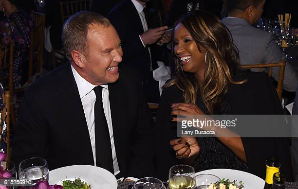 Michael Kors and Iman attend the God's Love We Deliver Golden Heart Awards on October 17 2016 in New York City