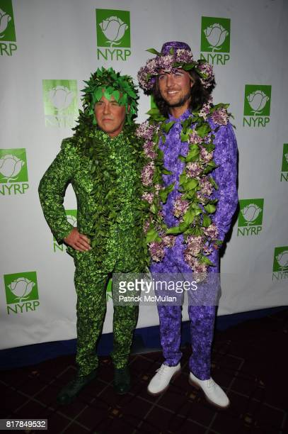 Michael Kors and Lance Lepere attend Bette Midler's NY Restoration Project 15th Annual Hulaween at Waldorf Astoria on October 29 2010 in New York City