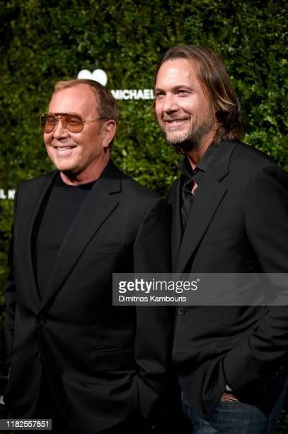 Michael Kors and Lance LePere attend God's Love We Deliver Golden Heart Awards on October 21 2019 in New York City