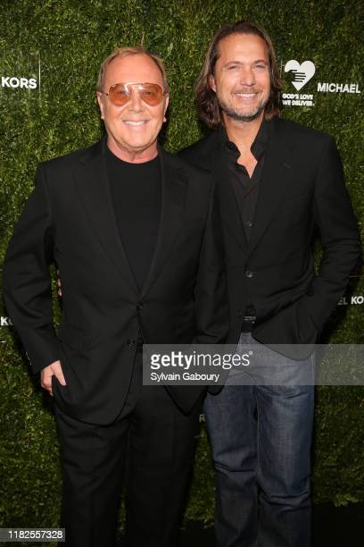 Michael Kors and Lance LePere attend the 13th Annual Golden Heart Awards at Cipriani South Street on October 21 2019 in New York City