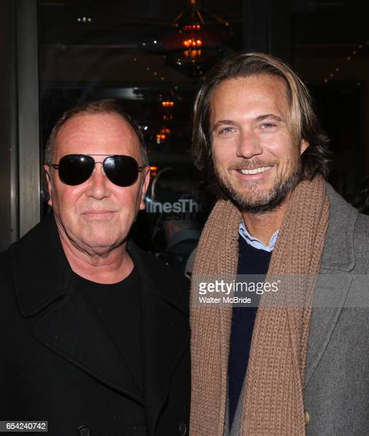 Michael Kors and Lance LePere attend the Broadway Opening Night performance of Roundabout Theatre Production of The Price at the American Airlines...