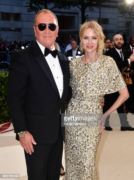 Michael Kors and Naomi Watts attend the Heavenly Bodies Fashion The Catholic Imagination Costume Institute Gala at The Metropolitan Museum of Art on...