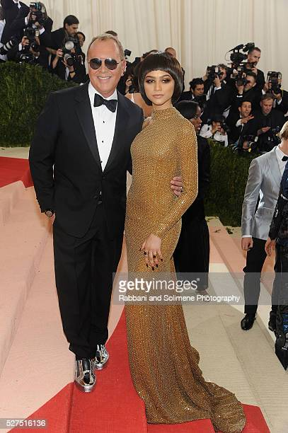 """Michael Kors and Zendaya attends """"Manus x Machina: Fashion In An Age Of Technology"""" Costume Institute Gala at"""