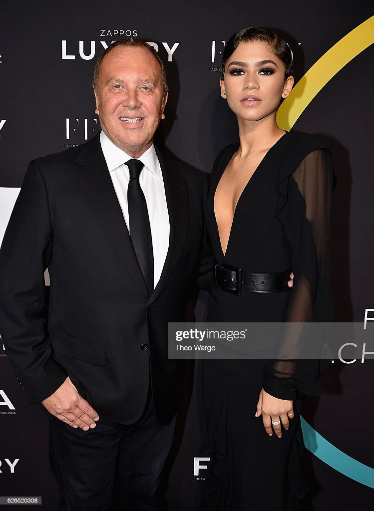 Michael Kors and Zendaya attends the 30th FN Achievement Awards at IAC Headquarters on November 29, 2016 in New York City.