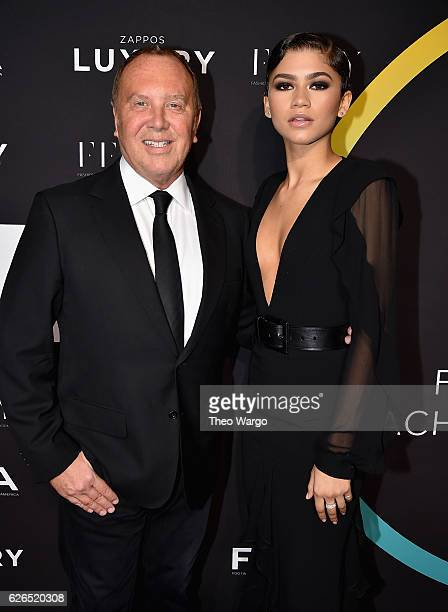 Michael Kors and Zendaya attends the 30th FN Achievement Awards at IAC Headquarters on November 29 2016 in New York City