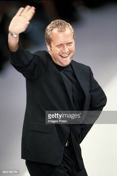 Michael Kors at the Celine Spring 2000 show circa 1999 in Paris, France.