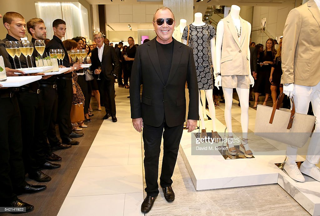 Michael Kors Regent Street Store Opening Cocktail Party : News Photo
