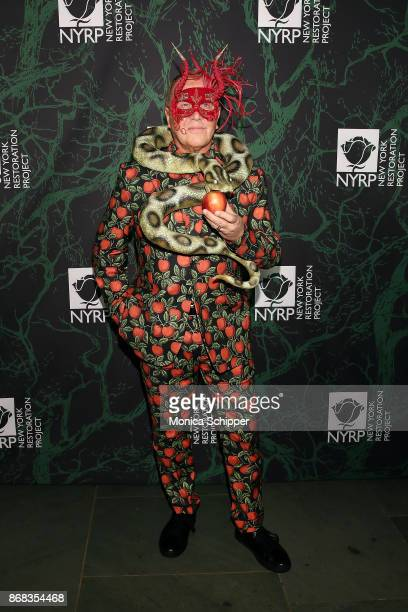 Michael Kors attends Bette Midler's 2017 Hulaween event benefiting the New York Restoration Project at Cathedral of St John the Divine on October 30...