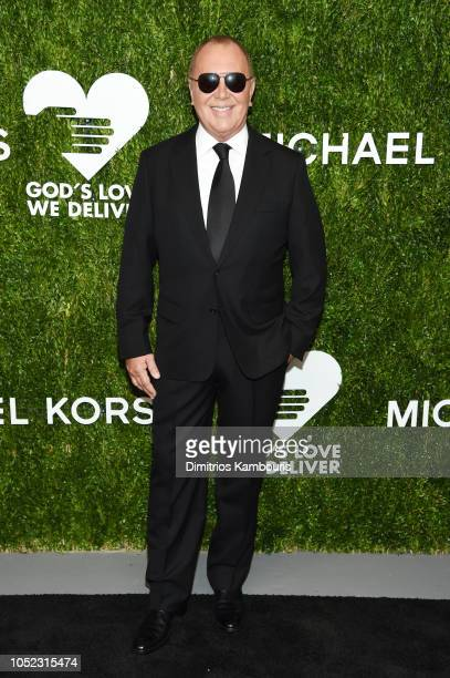 Michael Kors attends God's Love We Deliver, Golden Heart Awards at Spring Studios on October 16, 2018 in New York City.