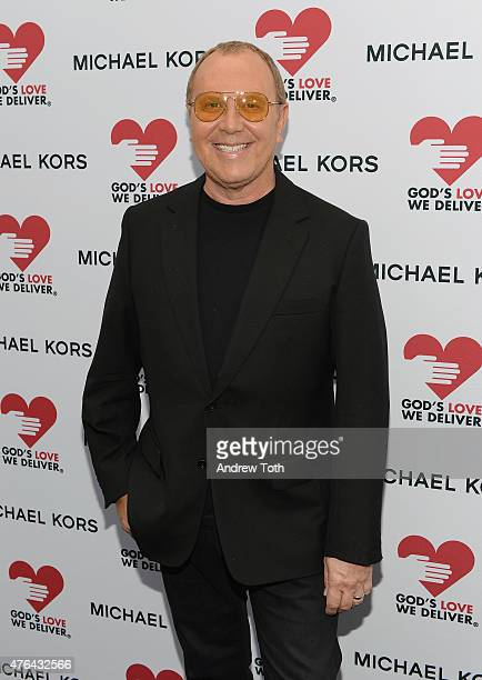 Michael Kors attends the celebration of God's Love We Deliver returning to Soho with a dedication of the new Michael Kors building on June 9 2015 in...