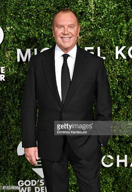 Michael Kors attends the God's Love We Deliver Golden Heart Awards on October 17, 2016 in New York City.