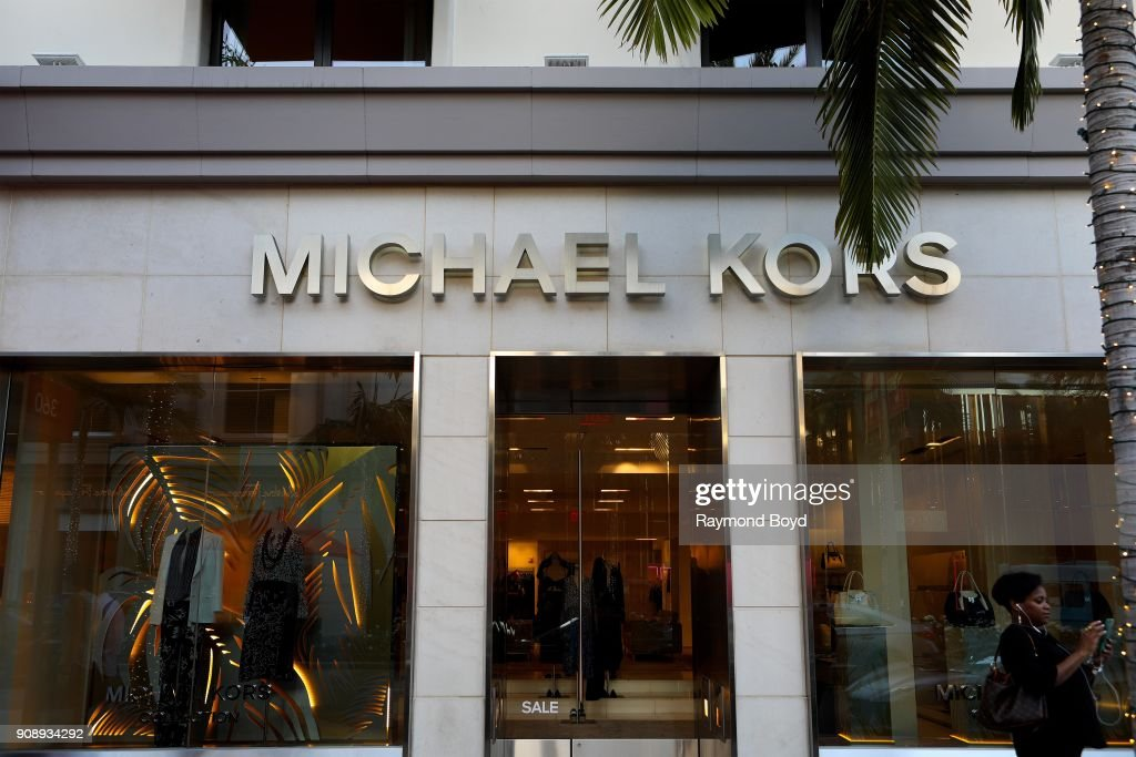 dae2b53453 Michael Kors Boutique on Rodeo Drive in Beverly Hills, California on ...
