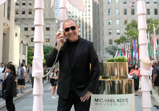 NY: Michael Kors & Gigi Hadid Bring Fantasy Island To NYC For The Launch Of The Latest Wonderlust Fragrance Campaign