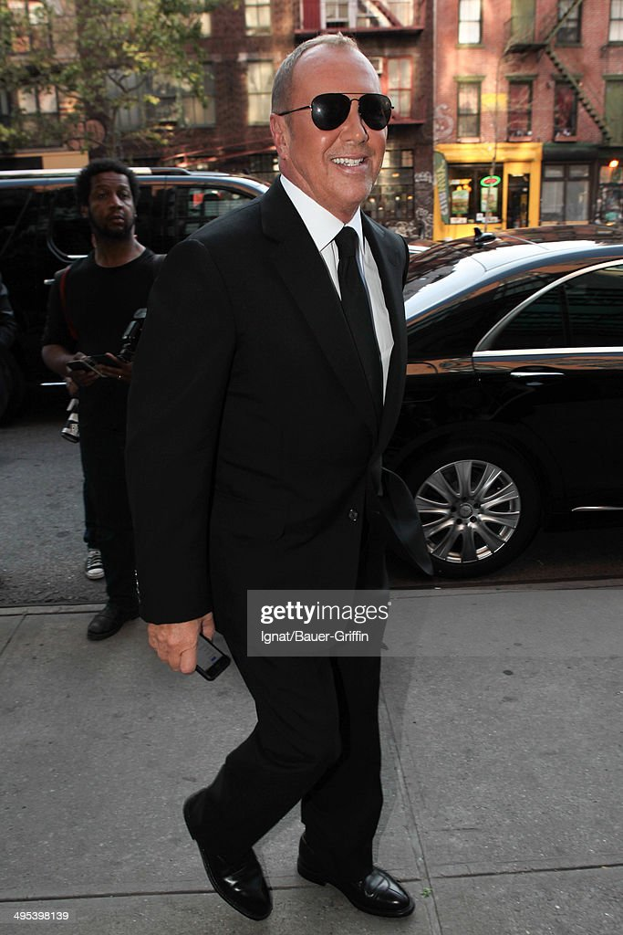 Michael Kors is seen on June 02, 2014 in New York City.
