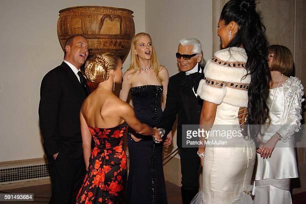 Michael Kors Jessica Simpson Nicole Kidman karl Lagerfeld and Kimora Lee Simmons attend The Metropolitan Museum of Art Costume Institute Spring 2005...